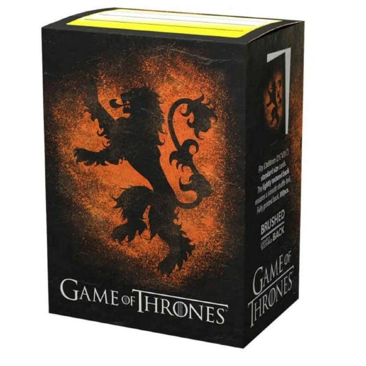 House Lannister - Dragon Shield Sleeves Brushed Art (100ct)