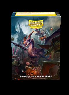 Halloween 2021 - Dragon Shield Sleeves Brushed Art (100ct)