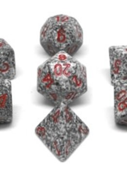 25320 Speckled Granite 7pc Dice Set