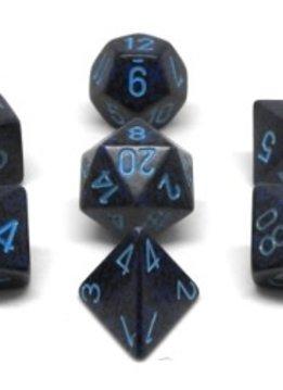 25307 Speckled Cobalt Dice Set