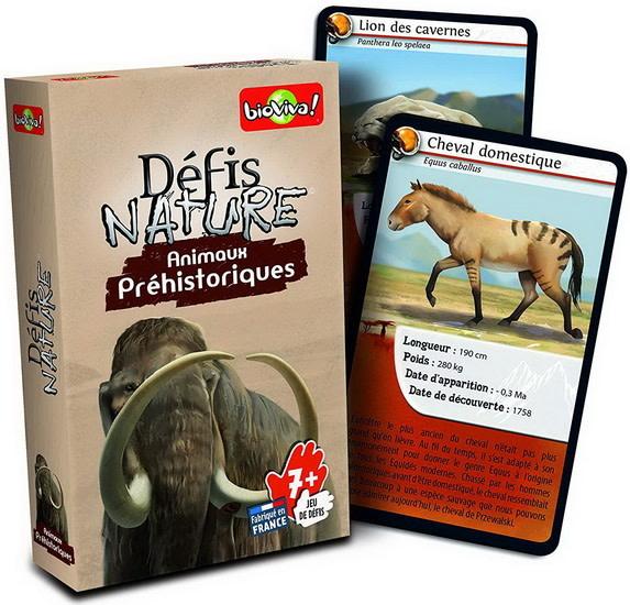 Defis Nature:  Animaux préhistoriques
