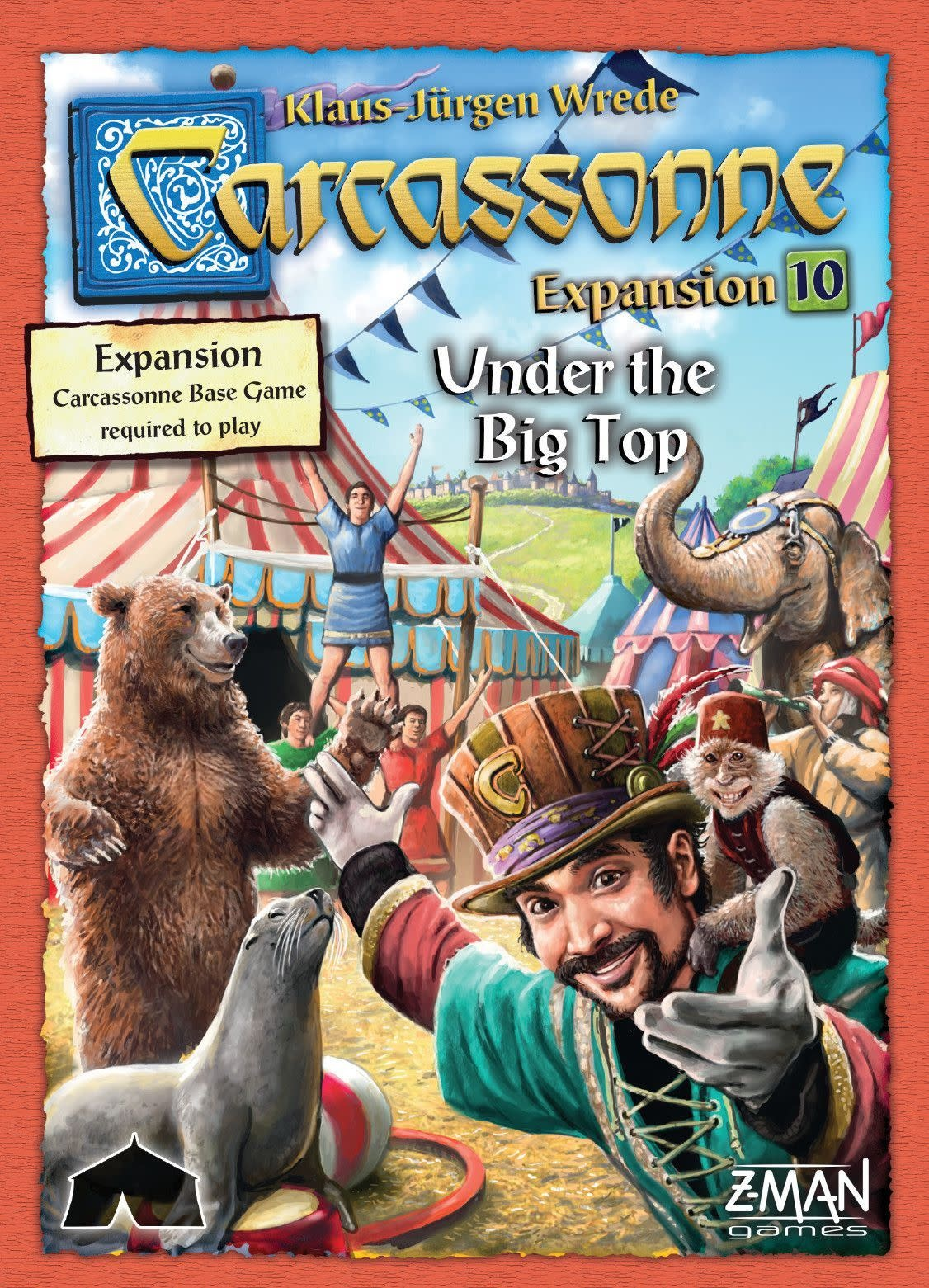 Carcassonne Exp. 10 Under the Big Top