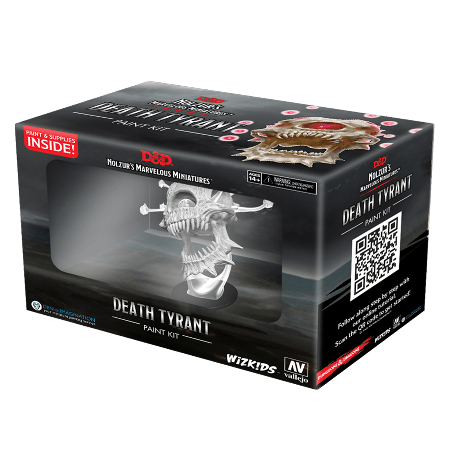 D&D Paint Night Kit: Death Tyrant