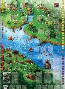 Pillards de la Mer du Nord: Playmat (Fr)