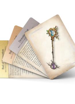 Magic Item Compendium Deck: Rods, Staffs and Wands (5E)