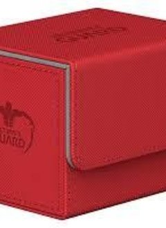 Deck Box: Sidewinder Xenoskin 100+ Red