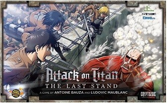 Attack on Titan the Last Stand Board Game