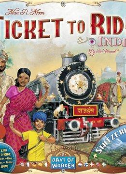 Aventuriers du Rail - Indes