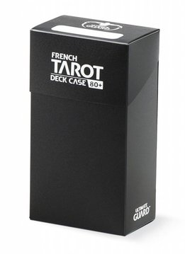 Ultimage Guard French Tarot Deck Case Black 80+