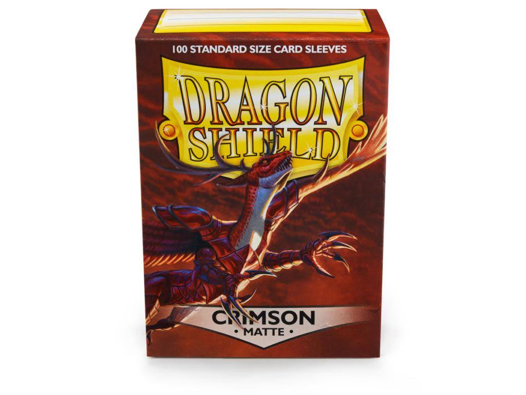 Dragon Shield Crimson Matte