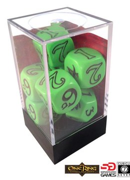 One Ring Green Dice Set