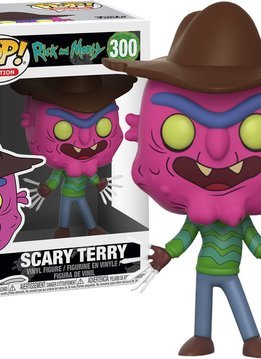 Pop Rick & Morty Scary Terry