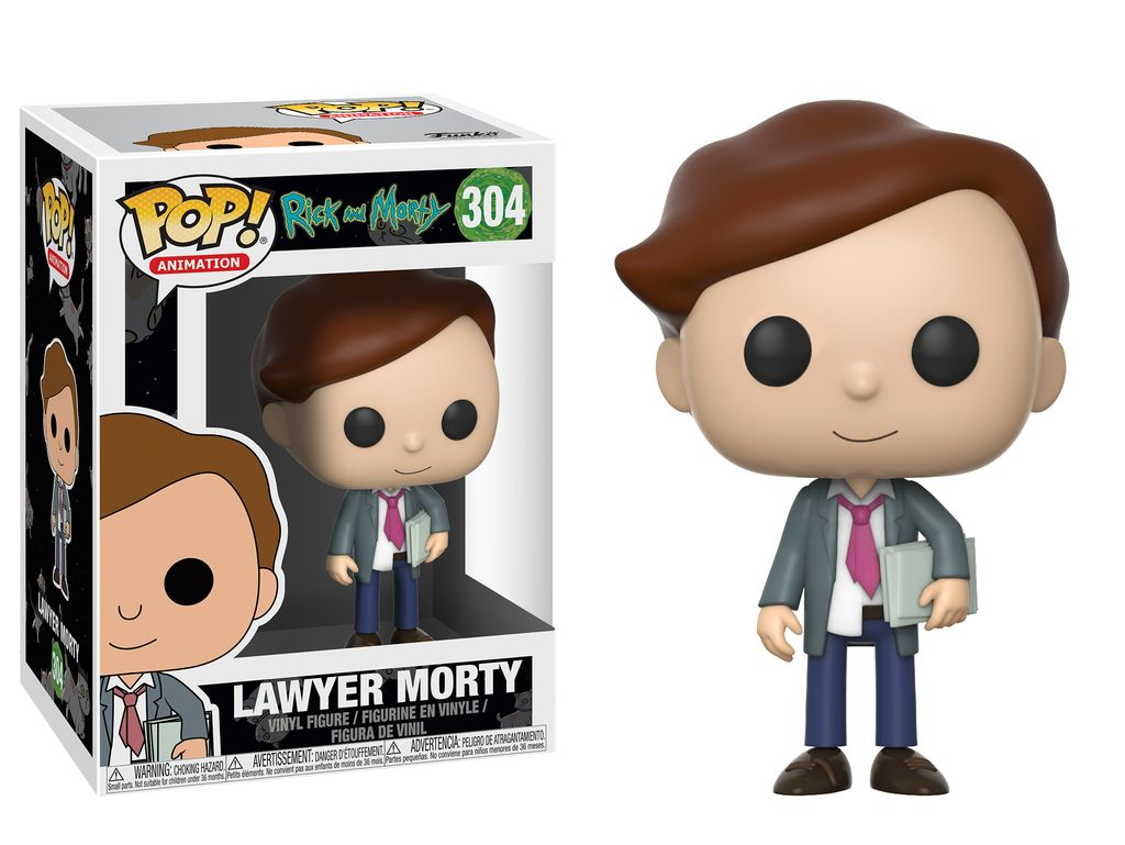 POP Rick and Morty Lawyer Morty