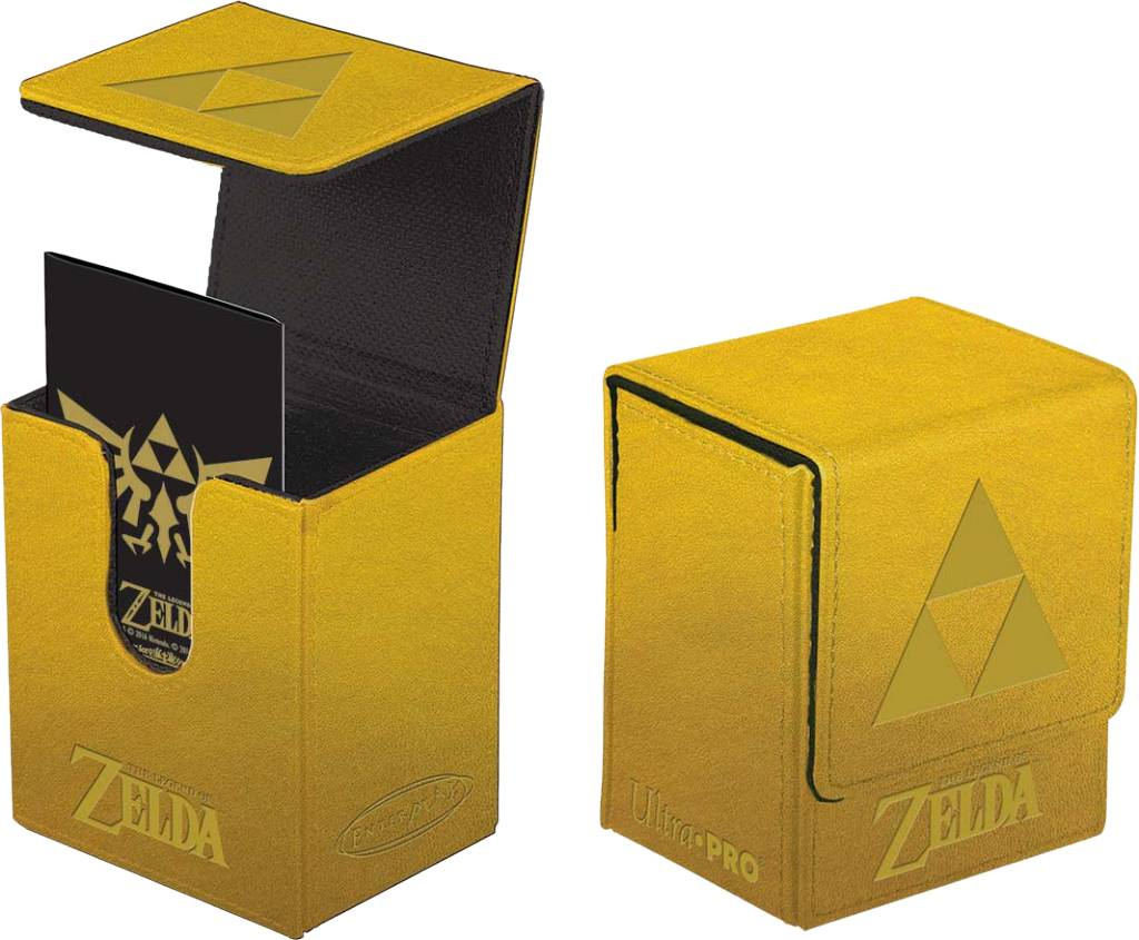 Deck Box: Legend of Zelda Gold Tri-Force