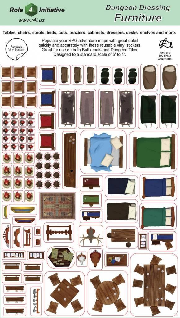 Dungeon Dressing Furniture