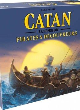 Catan - Ext. Pirates et Découvreurs