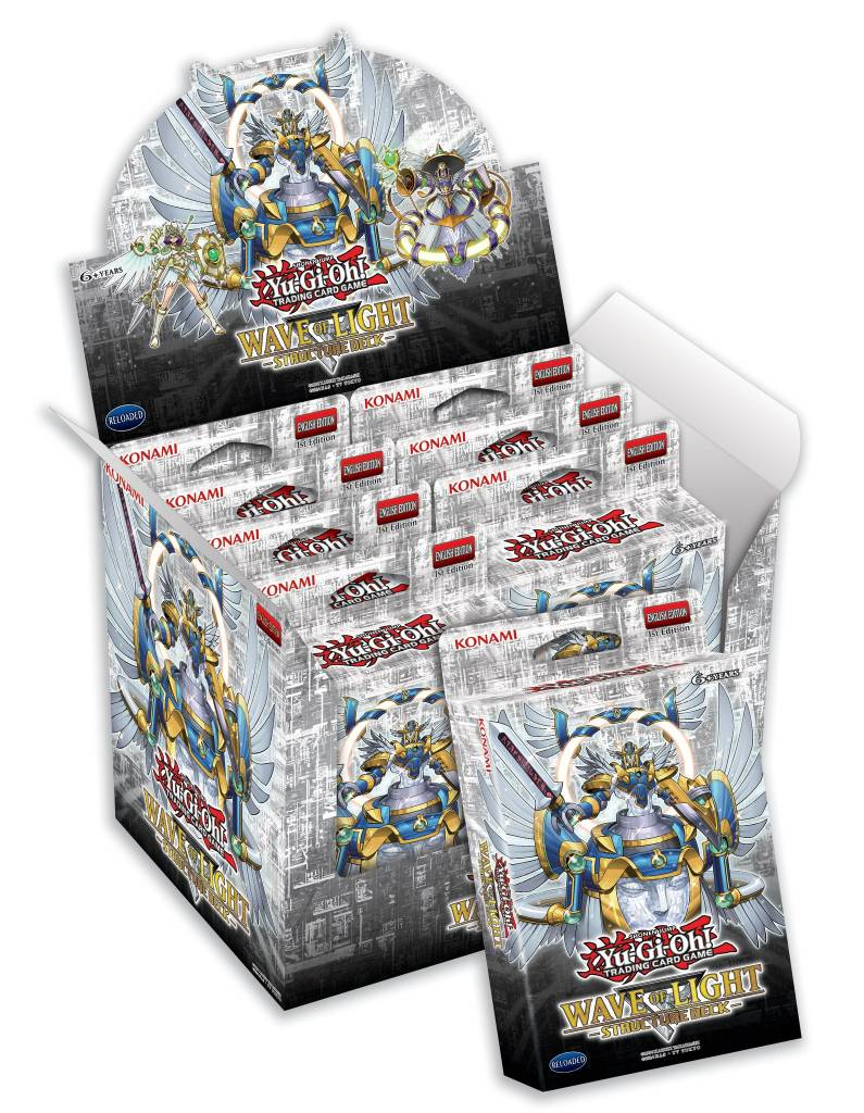 YGO Wave of Light Structure Deck