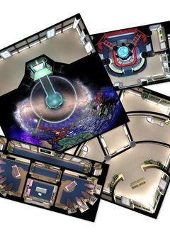 Star Trek Adventures Next Gen Starfleet Deck Tiles