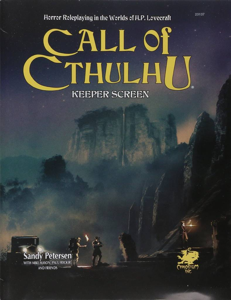 Call of Cthulhu 7th Edition Keeper's Screen