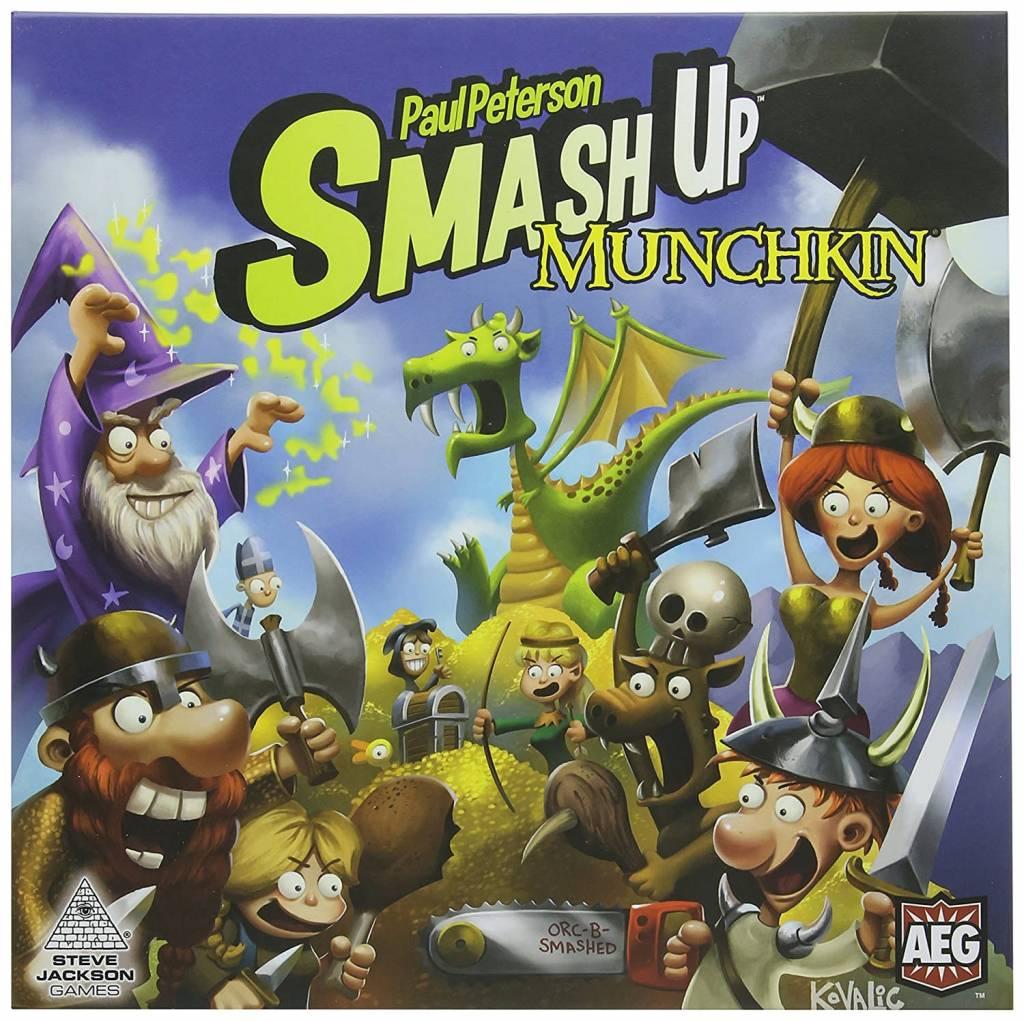 Smash Up Munchkin FR
