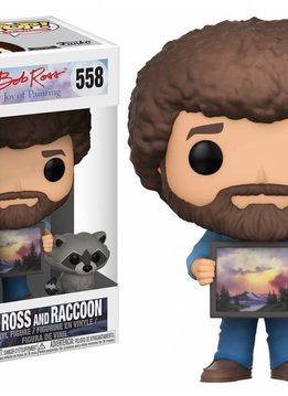 POP! Television : Bob Ross with Raccoon