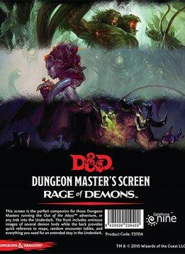 D&D DM Screen - Rage of Demons