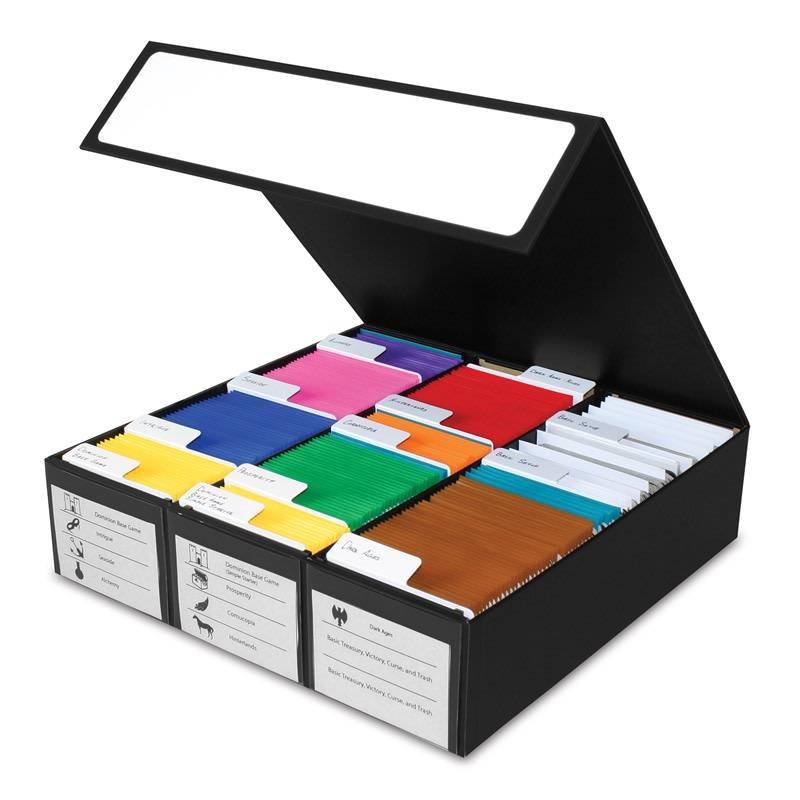3 Row Gaming Card Box - Black