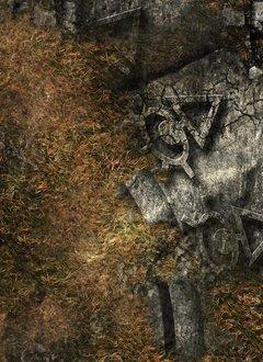 FLG Mats Ancient Alien Ruins - 4x6