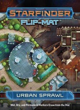 Starfinder Flip-mat: Urban Sprawl