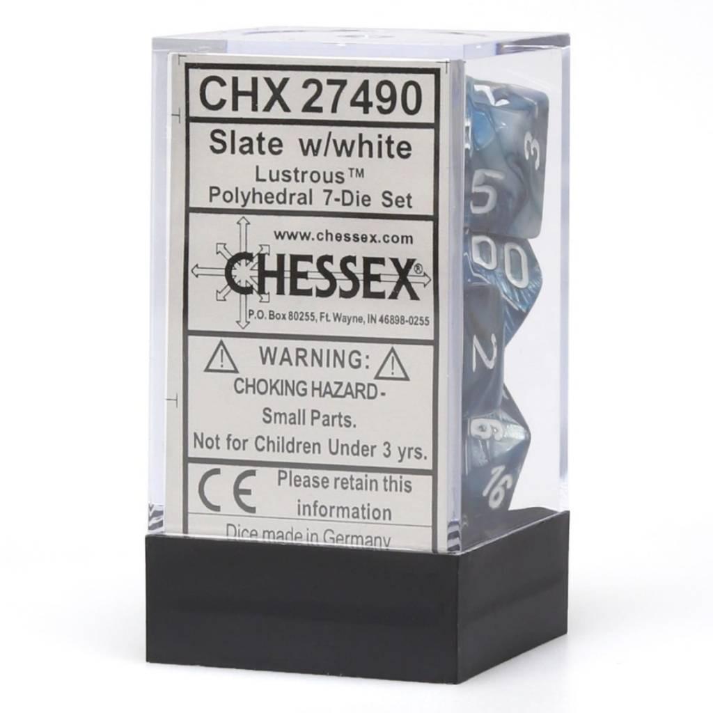 27490: 7d Slate w/white lustrous
