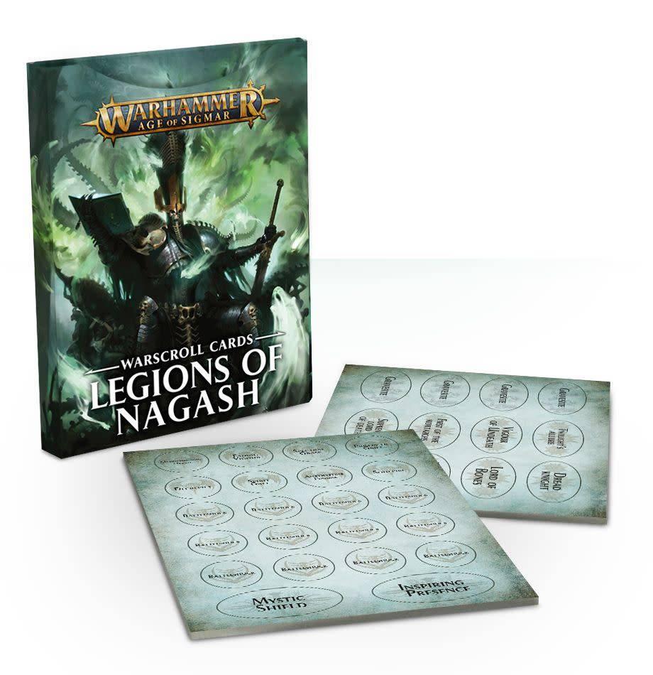 Warscroll Cards: Legions of Nagash FR