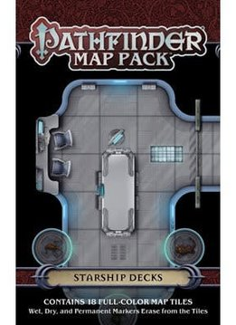 Pathfinder Map Pack : Starship Decks