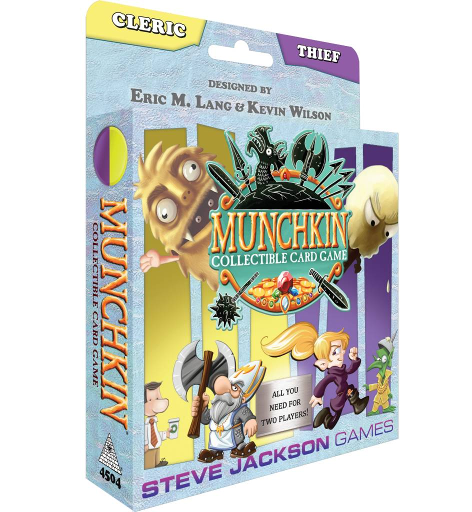 Munchkin CCG Starter Set - Cleric and Thief