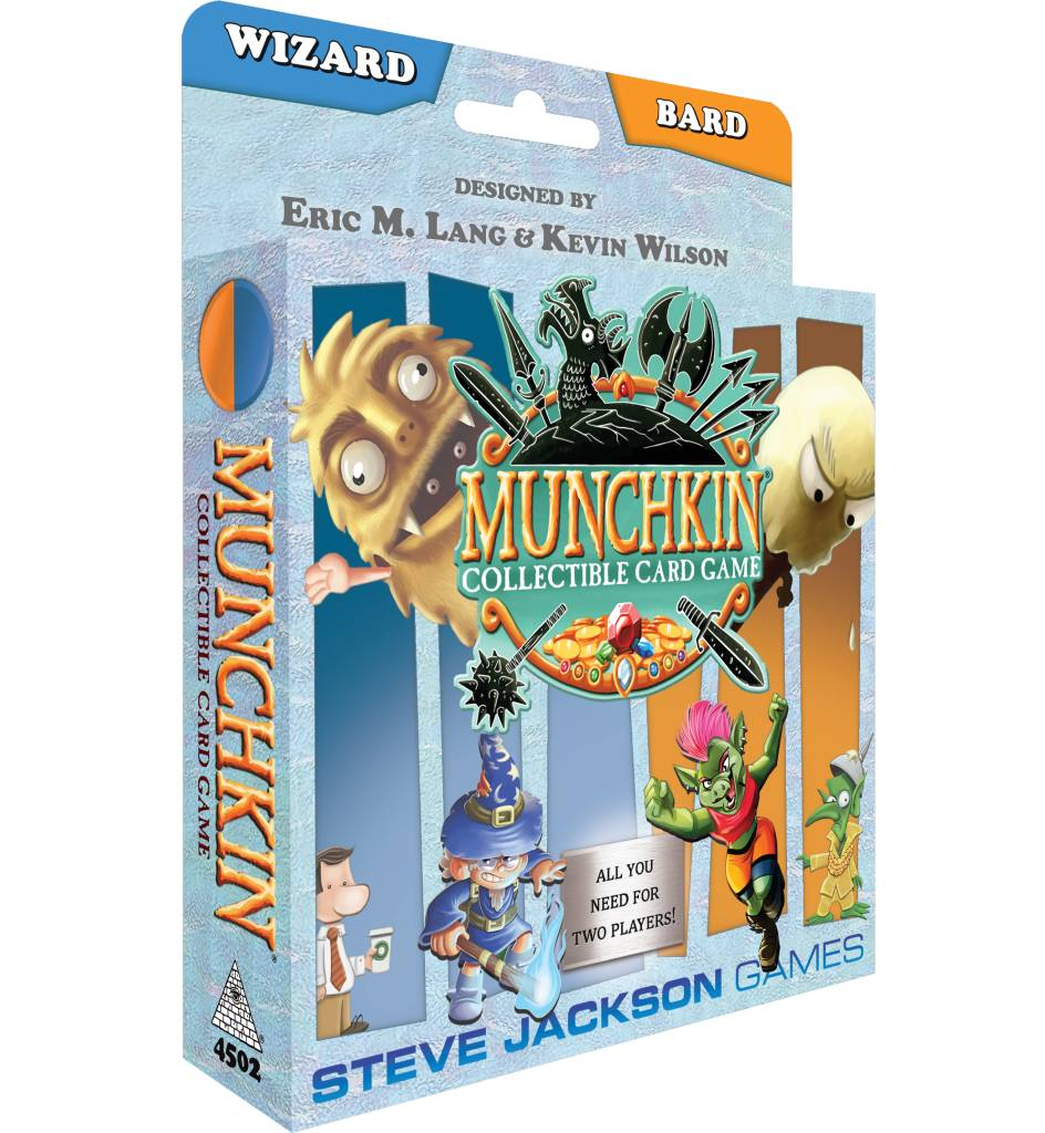 Munchkin CCG Starter Set - Wizard and Bard