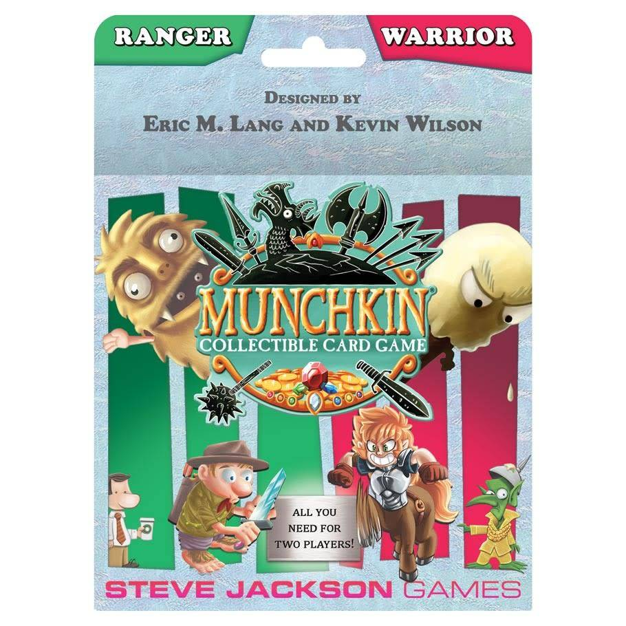 Munchkin CCG Starter Set - Ranger and Warrior