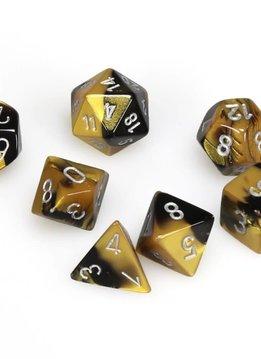26451: 7D Black-Gold w/silver set