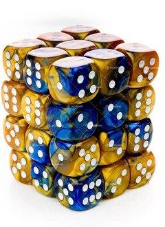 26822 Blue-gold/white 36d6