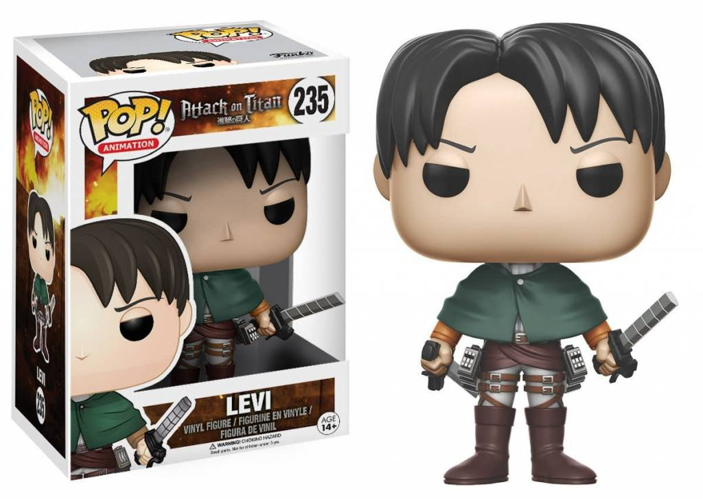Pop! Attack on Titan Levi
