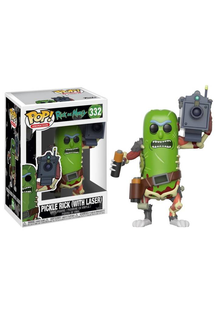 Pop! R&M Pickle Rick with laser