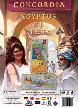 Concordia Aegyptus and Creta Expansion