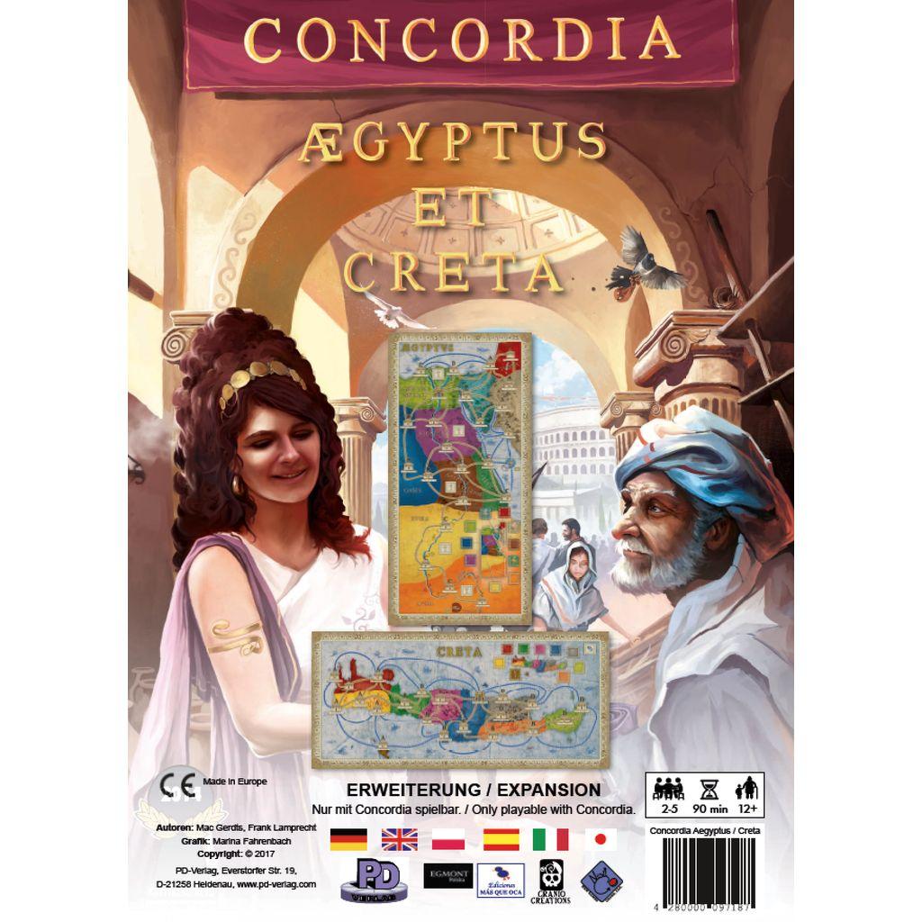 Concordia Aegyptus and Creta Expansion