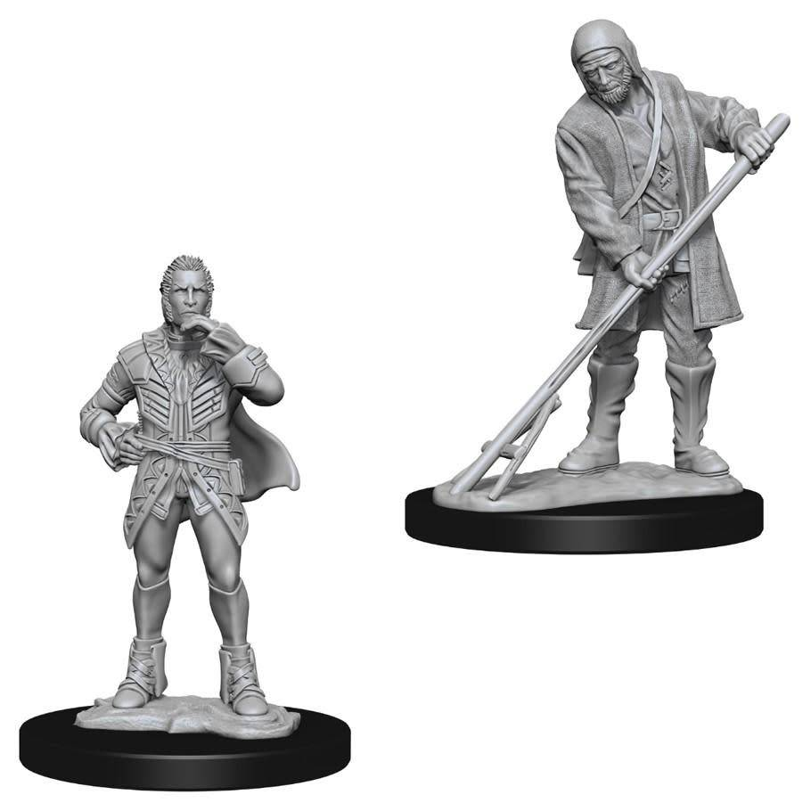 PF Unpainted Minis: Townspeople