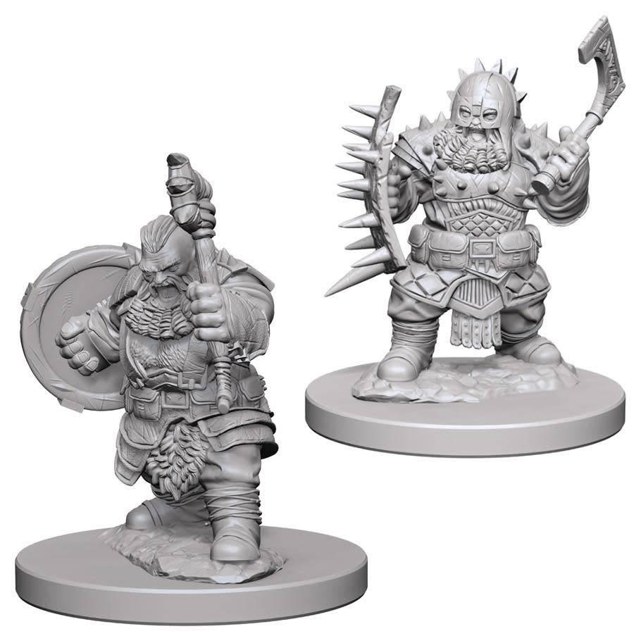 PF Unpainted Minis: Dwarf Male Barbarian