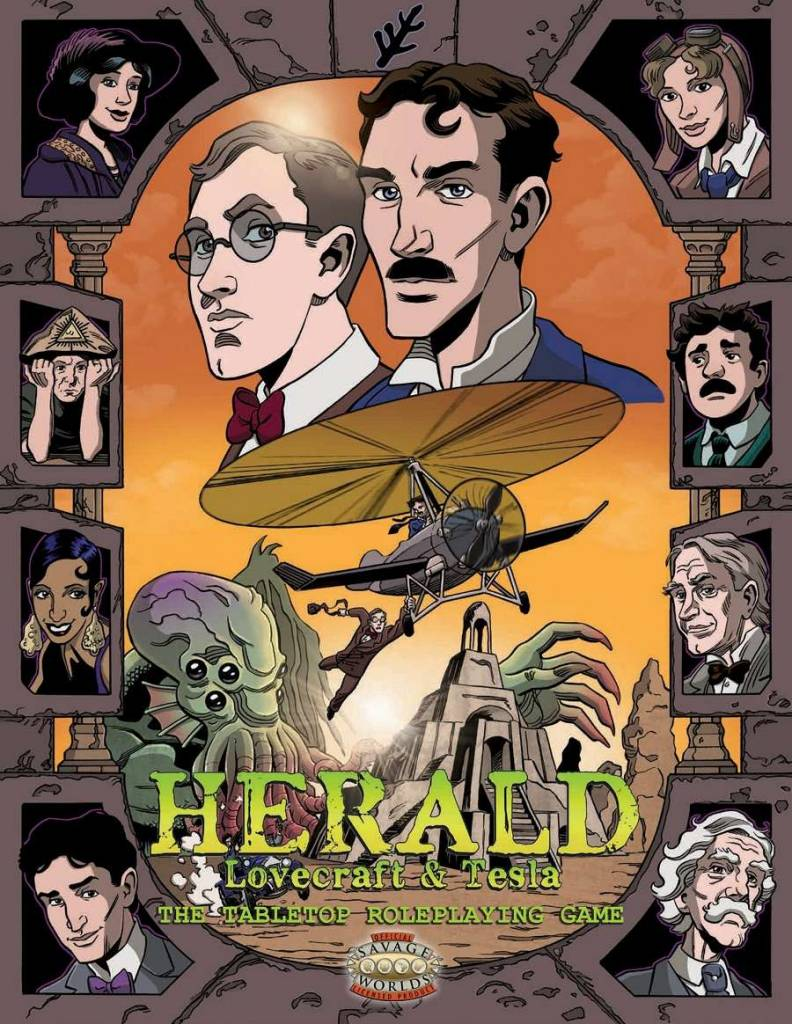 Herald: Lovecraft & Tesla RPG