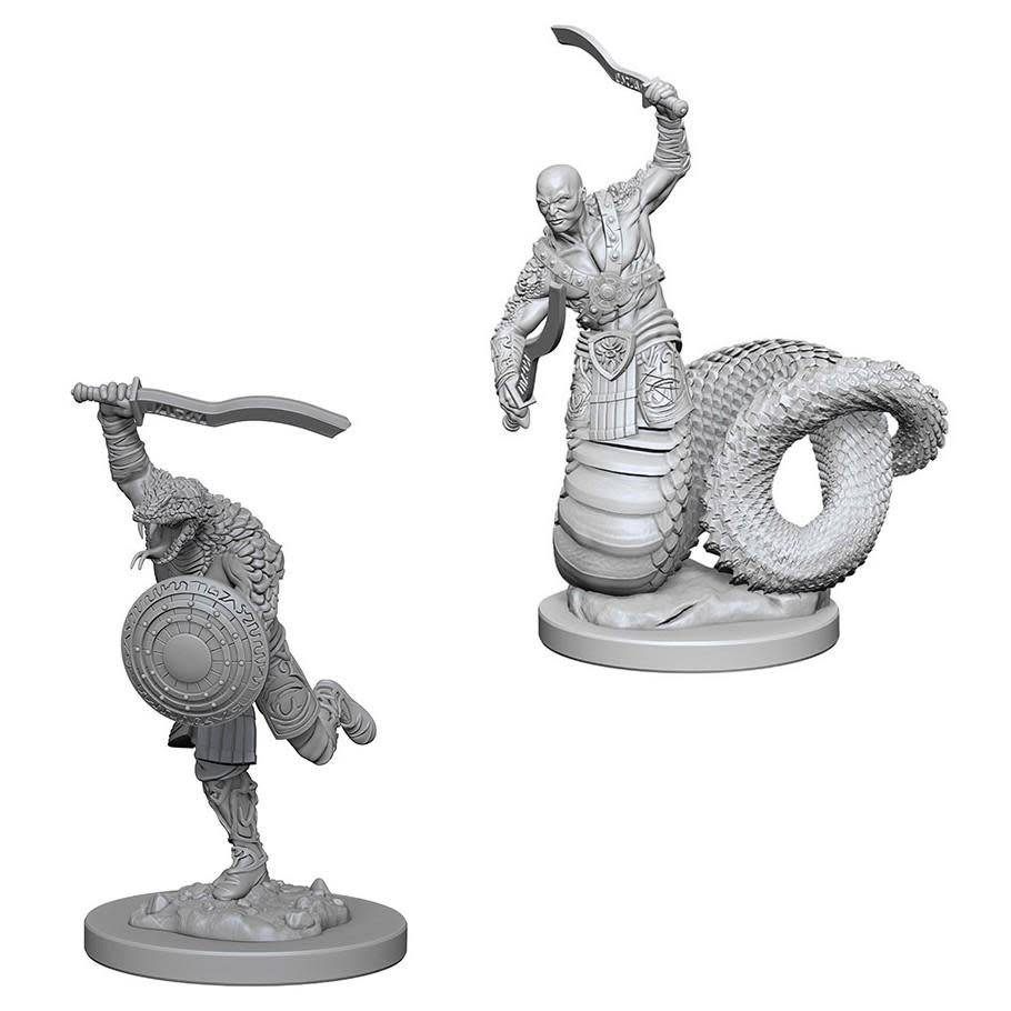 DND Unpainted Minis: Yuan-Ti Malisons