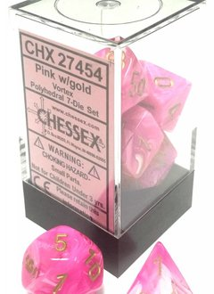 27454 Pink w/gold Vortex 7-Die set