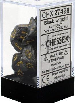 27498 lustrous black w/gold poly
