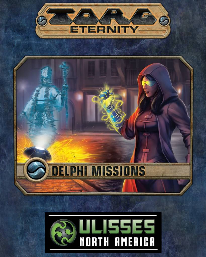 Torg Eternity Delphi Missions book