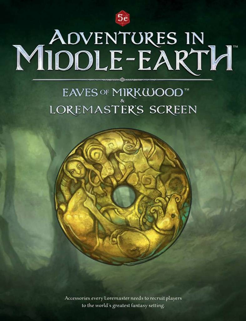 Adventures in Middle-Earth Loremaster Screen
