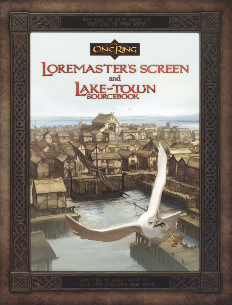 ONE RING RPG: LOREMASTER'S SCREEN & LAKE-TOWN S/B